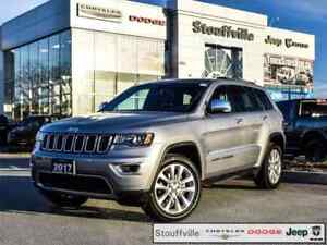 2017 Jeep Grand Cherokee Limited, Navi, Roof, Only 15,300 KMS