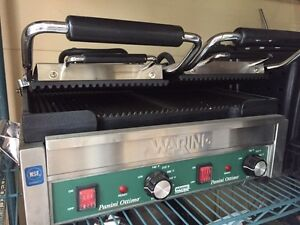 Waring 240Volt Commercial Panini Grill