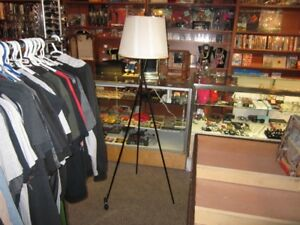 Tall Tripod Floor Lamp For Sale