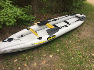 Kayak Zodiac Inflatable 2 person or solo