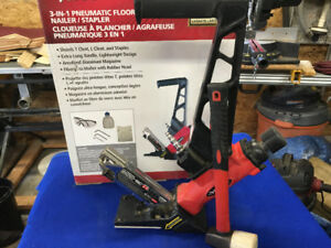 Husky 3 in 1  Floor Nailer