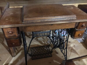 Singer Sewing Table - Antique