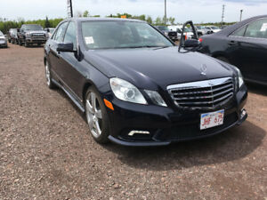 2011  MERCEDES E350 4MATIC    TWO TO CHOOSE FROM