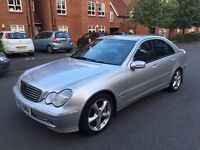 2003 Mercedes C Class 2.1 C220 CDi Avantgarde Automatic/Tiptronic, FULL SERVICE HISTORY, MOT MAY 17.