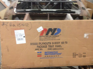 Mopar 68-70 B-Body (NOT CHARGER) AMD package Tray