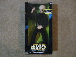 Star Wars 12 Inch BARQUIN D'AN Action Figure MIP Strathcona County Edmonton Area image 1