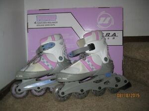 GIRLS' ADJUSTABLE BLADES - SIZE 1 - 4