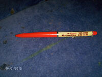 VINTAGE PARC RICHELIEU RACETRACK MECHANICAL PEN-HORSES-RARE!