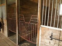 Horse Stalls and Materials for Sale Please Contact