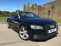 2011 Audi A5 2.0 TFSI quattro S Line Convertible **Full Leather**
