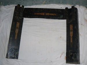 Antique Marble and Cast-iron Fireplace surround West Island Greater Montréal image 9