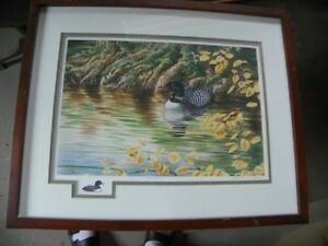 Numbered/Signed 1992 Edition Christine Wilson Wildlife Print