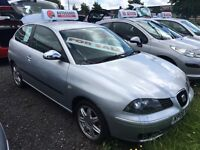 06 seat Ibiza 1.4 special edition be quick!!!