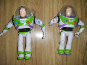 2 Buzz Lightyears From Toy Story for sale