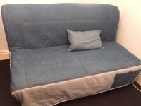 IKEA LYCKSELE 3 SEAT Double SOFA BED • Great Condition
