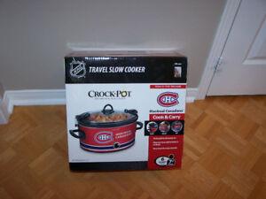 Crock-Pot NHL 6Qt Manual Cook & Carry Slow Cooker- Montreal