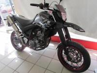 YAMAHA XT660X, 14 REG 11708 MILES WITH AKRAPOVIC EXHAUSTS SUPERMOTO 660cc...