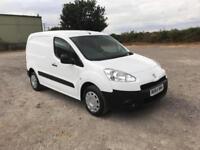 Peugeot Partner L1 850 1.6 92 EURO 5 DIESEL MANUAL WHITE (2014)