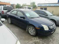 2006 FORD FUSION - SALE PRICE $ 4499 SFTY  /ETEST