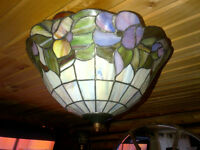 "Tiffany ceiling lamp and chandelier ""NEW PRICE!!!!!!!"""