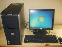Dell Intel, Quad Core 2.66 GHz Desktop, HDMI, Wireless G