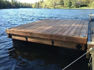 Floating Boat Dock Swim Raft Cottage Sun Deck