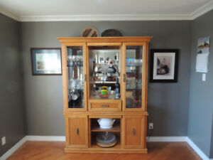 Buffet and  Hutch /  China Cabinet