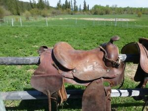good quality riding saddle with all the gear you need