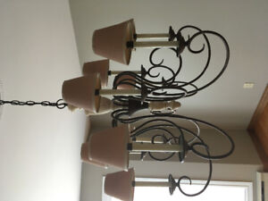 Country Modern Chandelier