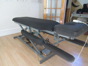 Massage Table and accessories