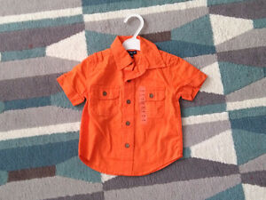 Baby Gap Button Shirt 12-18 months NEW WITH TAGS