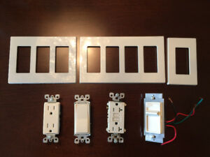 Leviton switches and receptacles