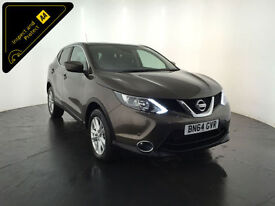 2014 64 NISSAN QASHQAI ACENTA PREMIUM DIG-T 1 OWNER SERVICE HISTORY FINANCE PX