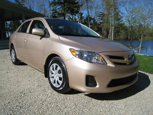 SOLD! 2012 Toyota Corolla 1 Owner Lease Return - $54/wk