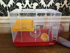Living World Hamster Cage and Starter Kit