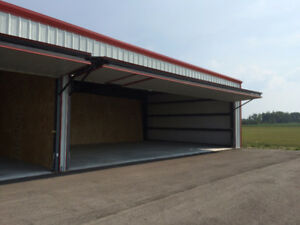 Indoor Hangar & Outdoor Storage Space