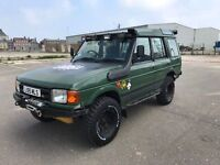Landrover Discovery 2.5 Td5 Manual **Road Legal Off Roader* Winch, Snorkel, T/A Tyres Bargin