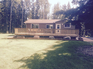Bungalow on 9 acres for Sale Buck Creek, AB. area