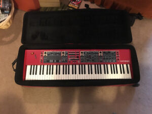 """Nord Stage 2 HA76 Key w/ Case, """"ULTIMATE 2tier"""" stand, etc......"""