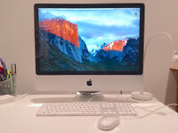 Apple Imac 24'', 2,8 GHz Intel Core 2 Duo, DD 320GO