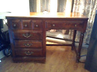 Antique Bedroom solid wood set Canadiens continental style
