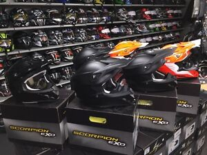 Scorpion MX/Snocross Helmets On-Sale! Stoney Point Hardware!