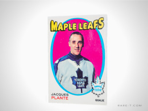1971 Hockey Card 'OPC - JACQUES PLANTE'