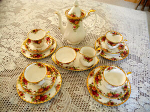 Royal Albert Coffee Set