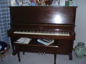 Henry Herbert, upright piano by Mason & Risch