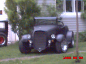rat rod plaquer plymouth 1932