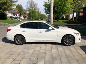 Infinity Q50S (Red sport) 2017 lease takeover. All protection!