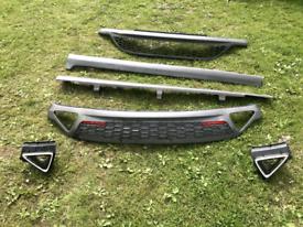 Bumper mesh grills Honda civic