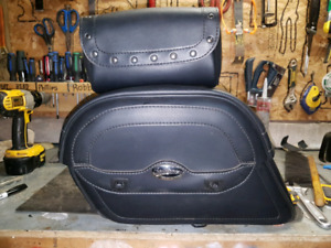 Saddle bag , front pouch for crusier bike
