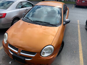 2005 Dodge Neon SX Sport FOR PARTS OR REPAIR